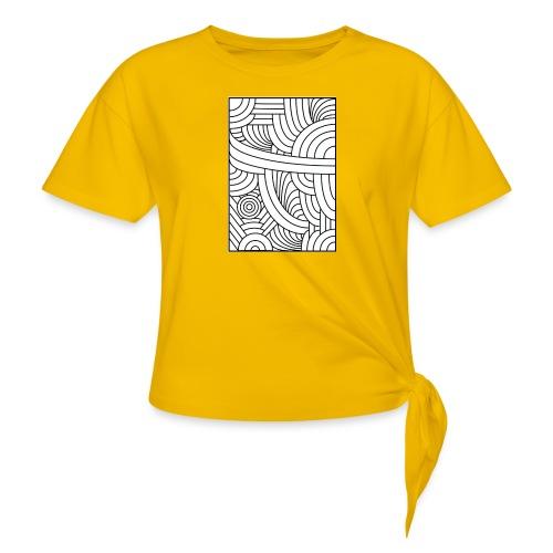 Brut - T-shirt à nœud Femme
