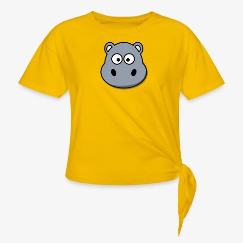 hippo - Maglietta annodata