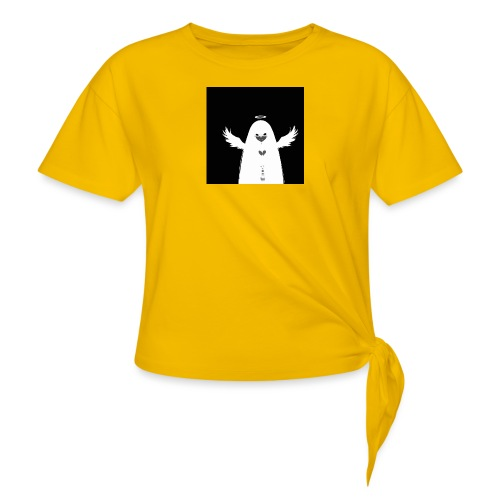Angel Ghost - T-shirt à nœud Femme
