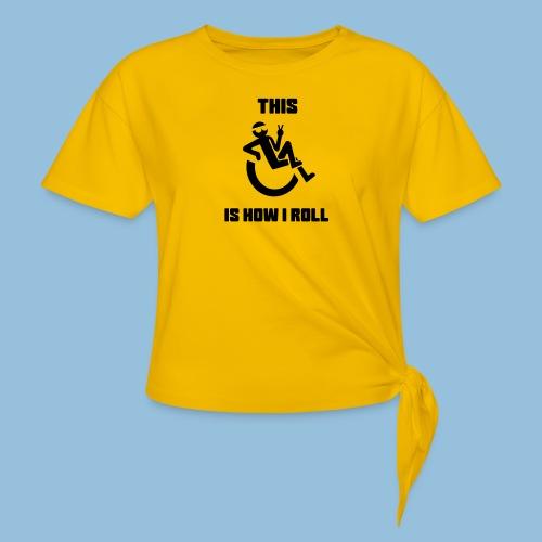 Howiroll10 - Geknoopt shirt