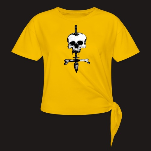 Skull Symbol - Knotenshirt