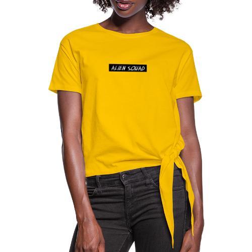 Alien squad shirt/t-shirt - T-shirt med knut dam