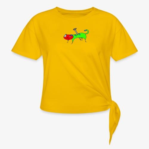 Kaatt - T-shirt med knut dam
