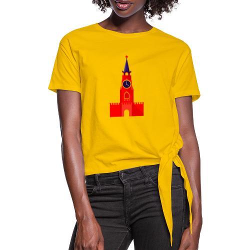 Kremlin by Julia Dudnik - Women's Knotted T-Shirt