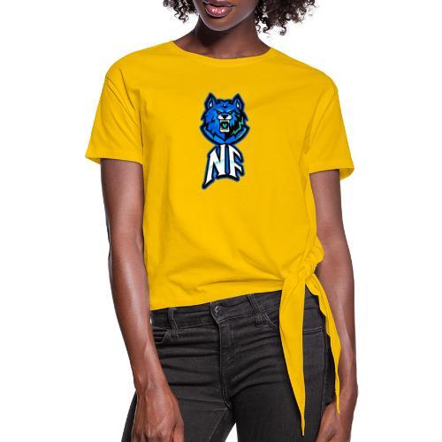Noah Fortes logo - Vrouwen Geknoopt shirt