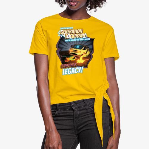Universalists @ fancythatshit.com - Frauen Knotenshirt