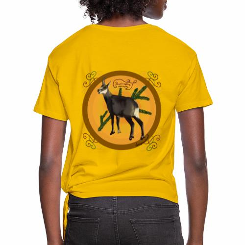 The chamois - Women's Knotted T-Shirt