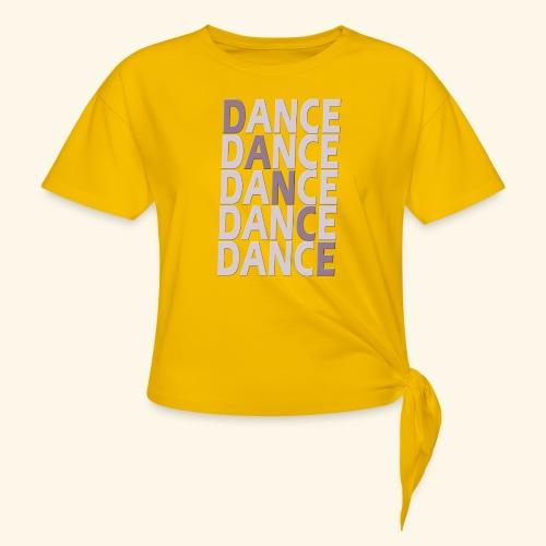 DANCE - Vrouwen Geknoopt shirt