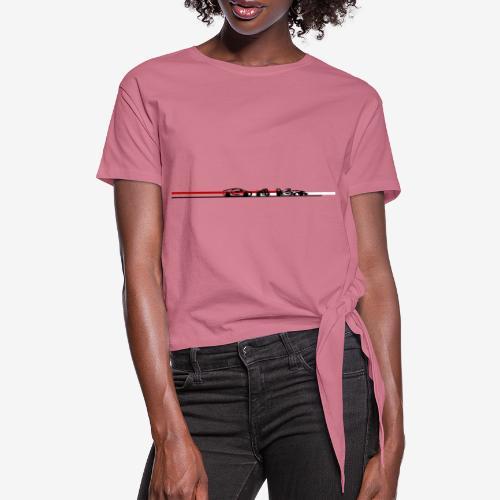 auto moto sport Style by D[M] - T-shirt à nœud