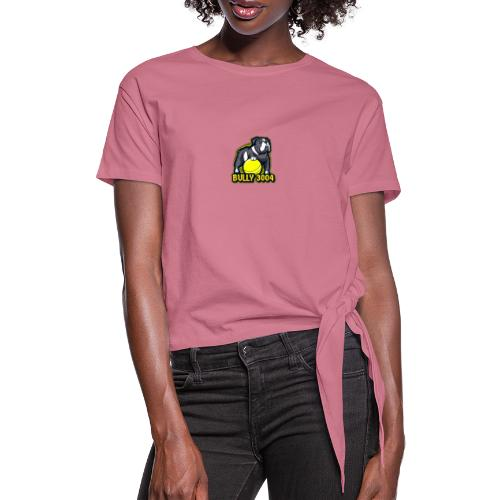 Logo Bully3004 - Frauen Knotenshirt