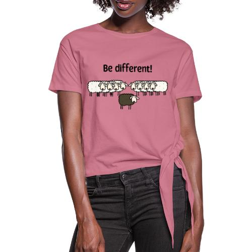 Be different - Frauen Knotenshirt