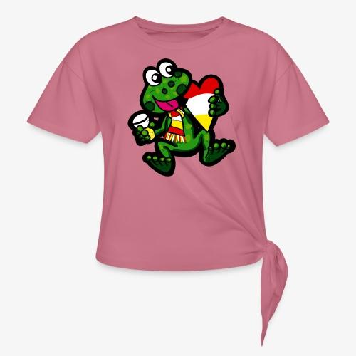 Oeteldonk Kikker - Geknoopt shirt