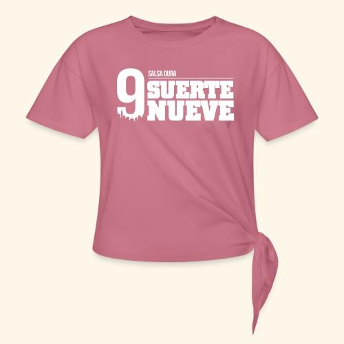 Logo Suerte - T-shirt à nœud Femme