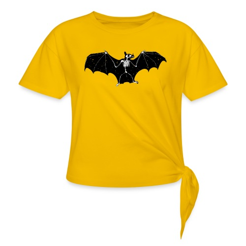Bat skeleton #1 - Women's Knotted T-Shirt