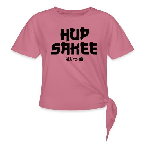 Hup Sakee - Vrouwen Geknoopt shirt