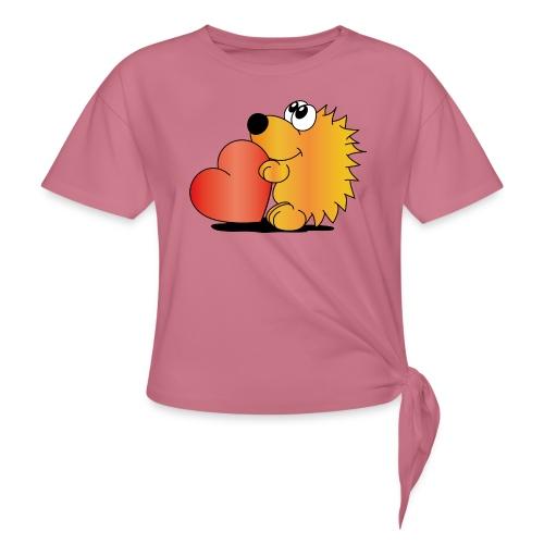 Igelchen - Frauen Knotenshirt