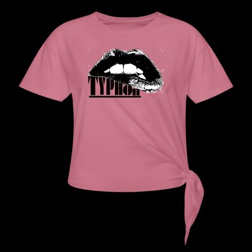 Typhon Original Logo - Knotted T-Shirt