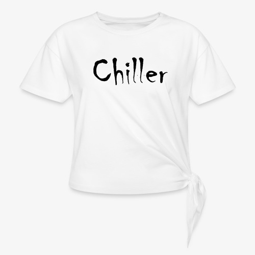 Chiller da real - Vrouwen Geknoopt shirt
