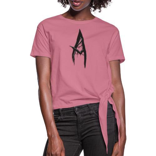 Scary A - Frauen Knotenshirt