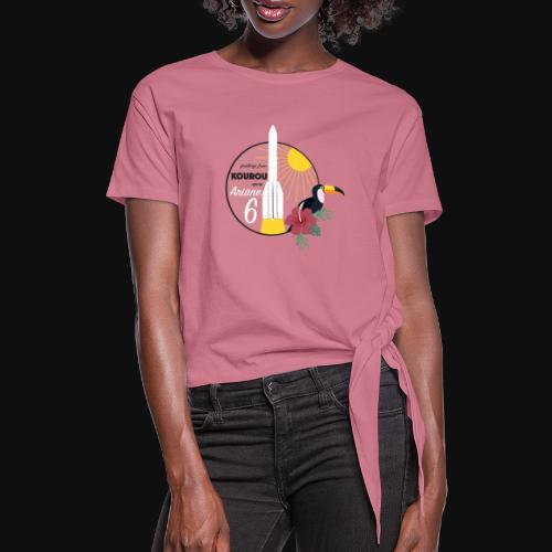 Ariane 6 By Itartwork - Knotted T-Shirt