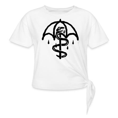 UMBRELLASNAKE - Camiseta con nudo mujer