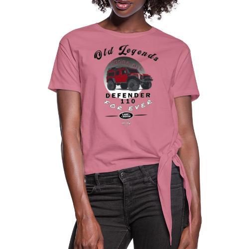 Old Legends - Defender - Camiseta con nudo mujer