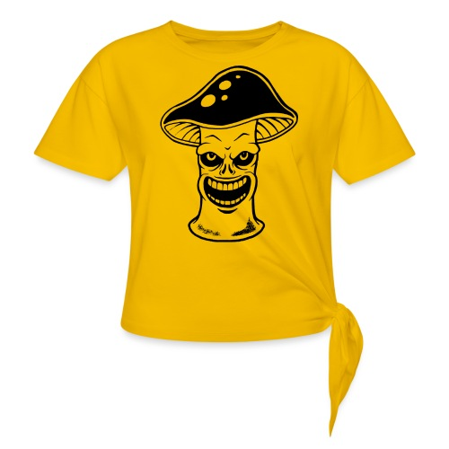 Happy Pilz - Knotenshirt