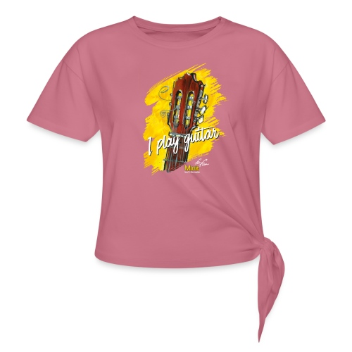 I play guitar - limited edition '19 - Knotenshirt