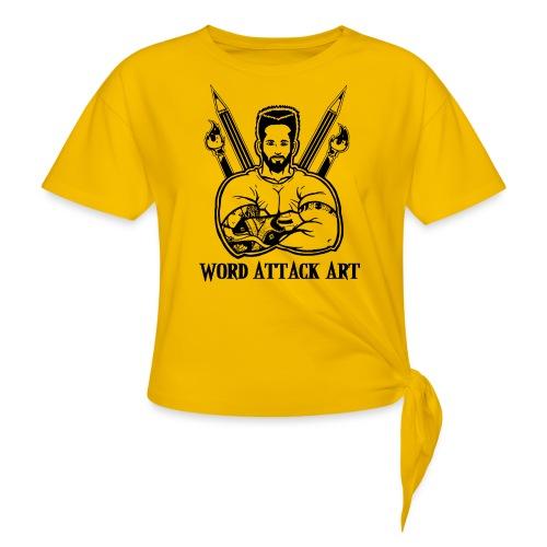 Word Attack Art - Knotenshirt