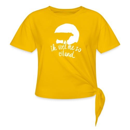 Eiland shirt - Vrouwen Geknoopt shirt