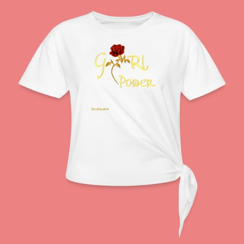 moodcreativo - Maglietta annodata da donna