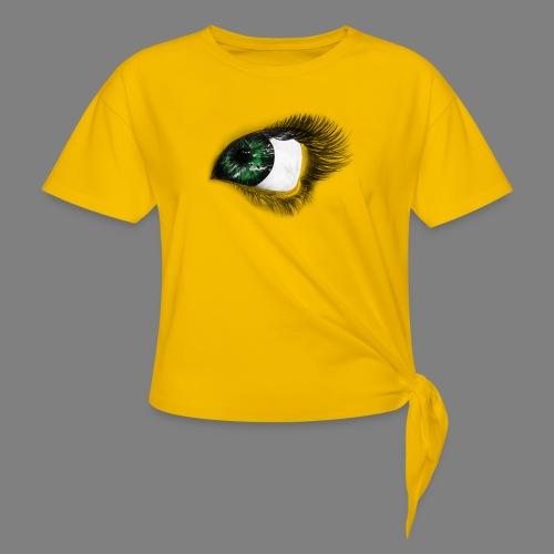 Auge 1 - Frauen Knotenshirt