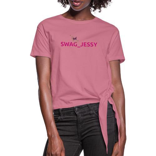 Swag_jessy - Maglietta annodata da donna