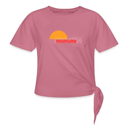 croatia - Knotted T-Shirt