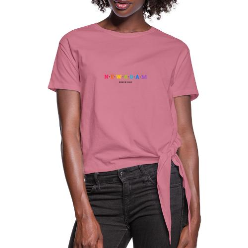 New Amsterdam - Women's Knotted T-Shirt