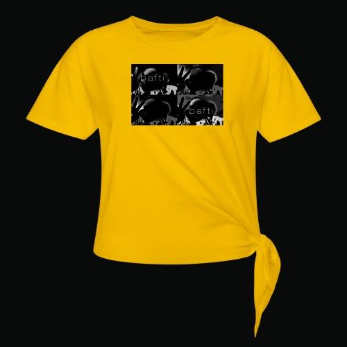 black bafti crew - Dame knot-shirt