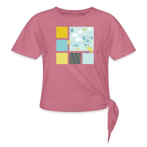 Sommerregen Liebe - Knotenshirt