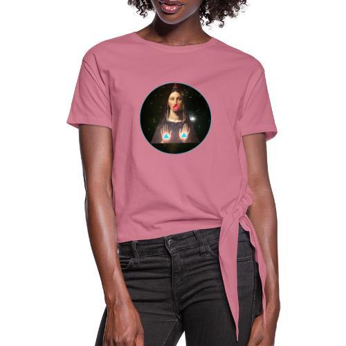 Space Virgin - Camiseta con nudo mujer