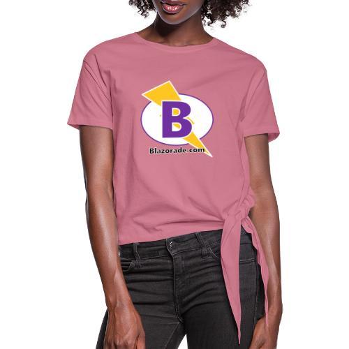 Blazorade - Women's Knotted T-Shirt