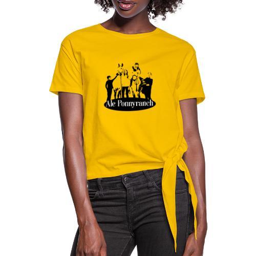 Ale Ponnyranch - T-shirt med knut dam