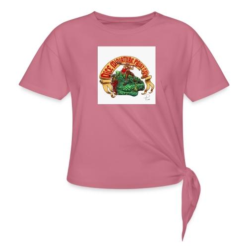 DiceMiniaturePaintGuy - Women's Knotted T-Shirt