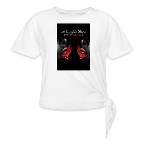 visuel boutique - T-shirt à nœud Femme
