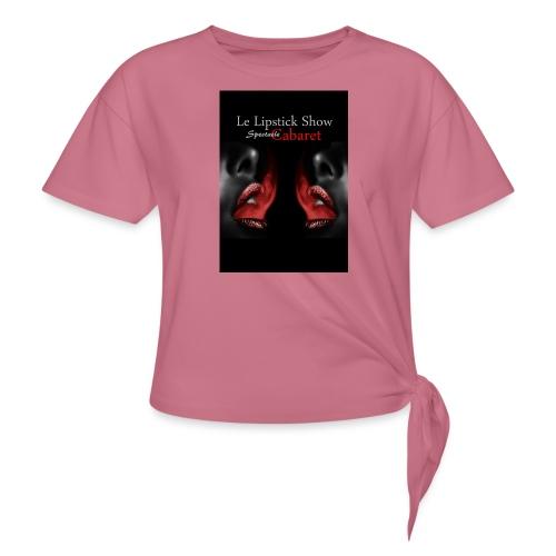 visuel boutique - T-shirt à nœud