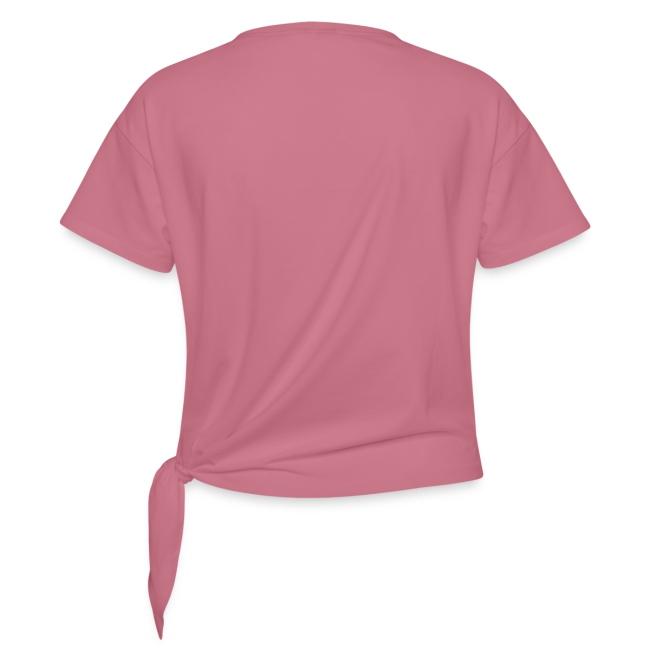 Vorschau: cat moon - Frauen Knotenshirt
