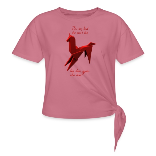 UnicornioBR2 - Camiseta con nudo
