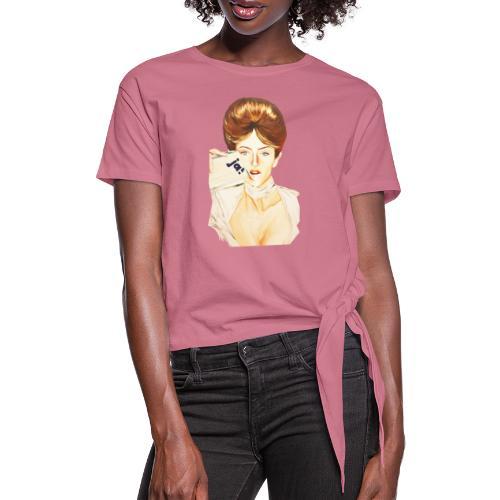 Women Motiv - JA! - Frauen Knotenshirt
