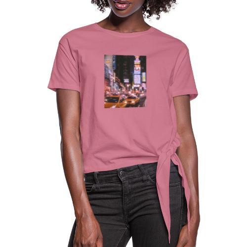 Ciudad - Camiseta con nudo mujer