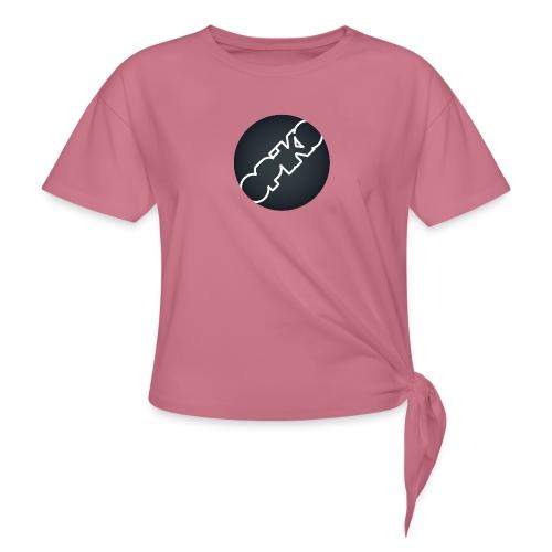 opiko Logo S/W - Frauen Knotenshirt