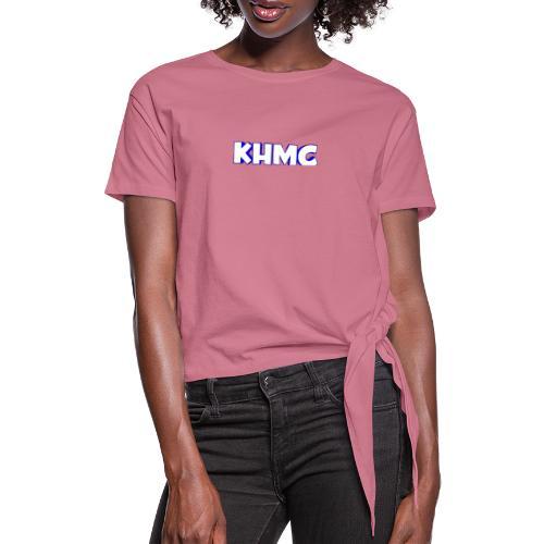 The Official KHMC Merch - Women's Knotted T-Shirt