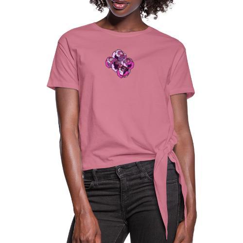 Senza titolSpring 4 - Maglietta annodata da donna